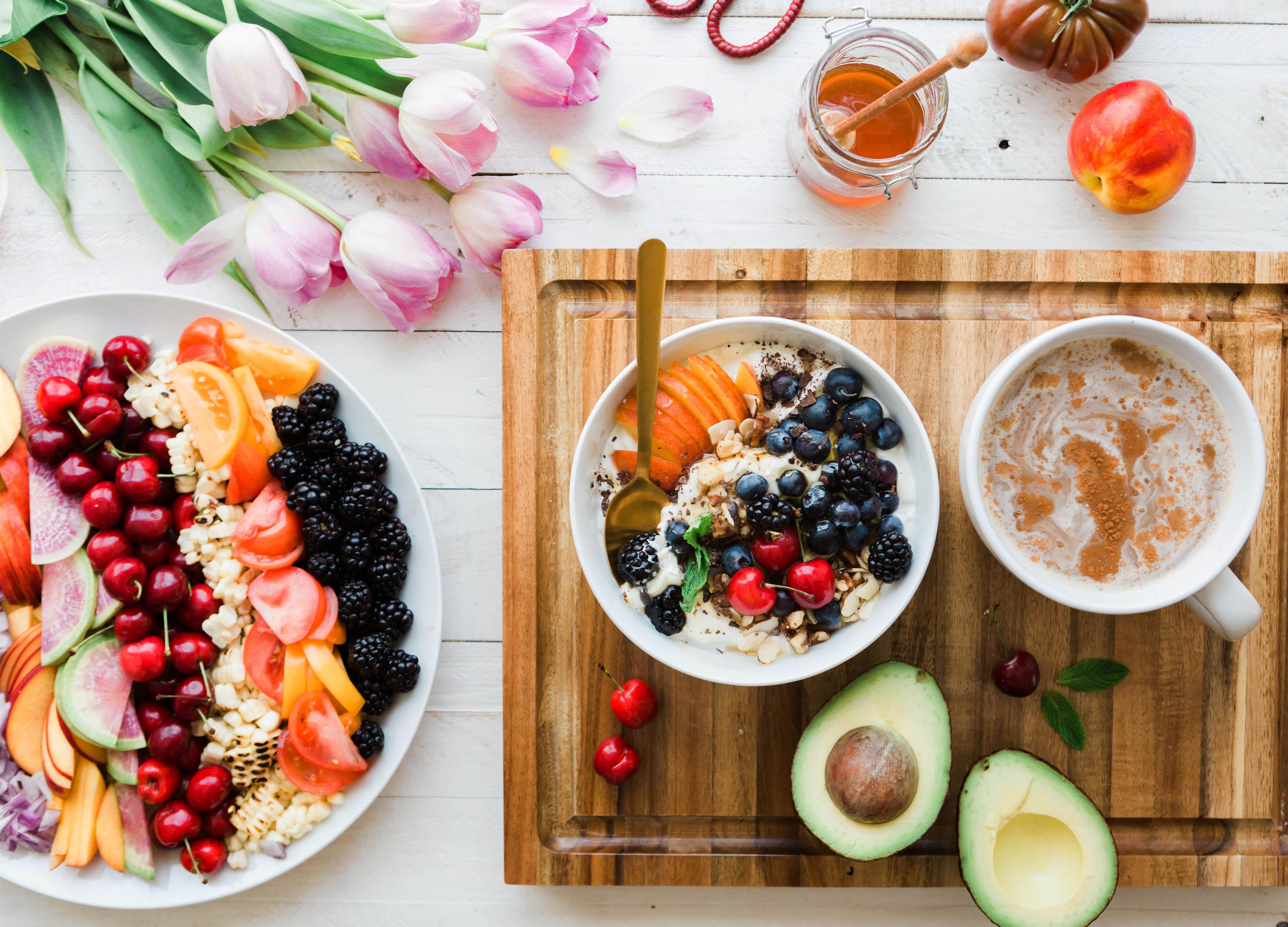 bữa ăn sáng buổi sáng