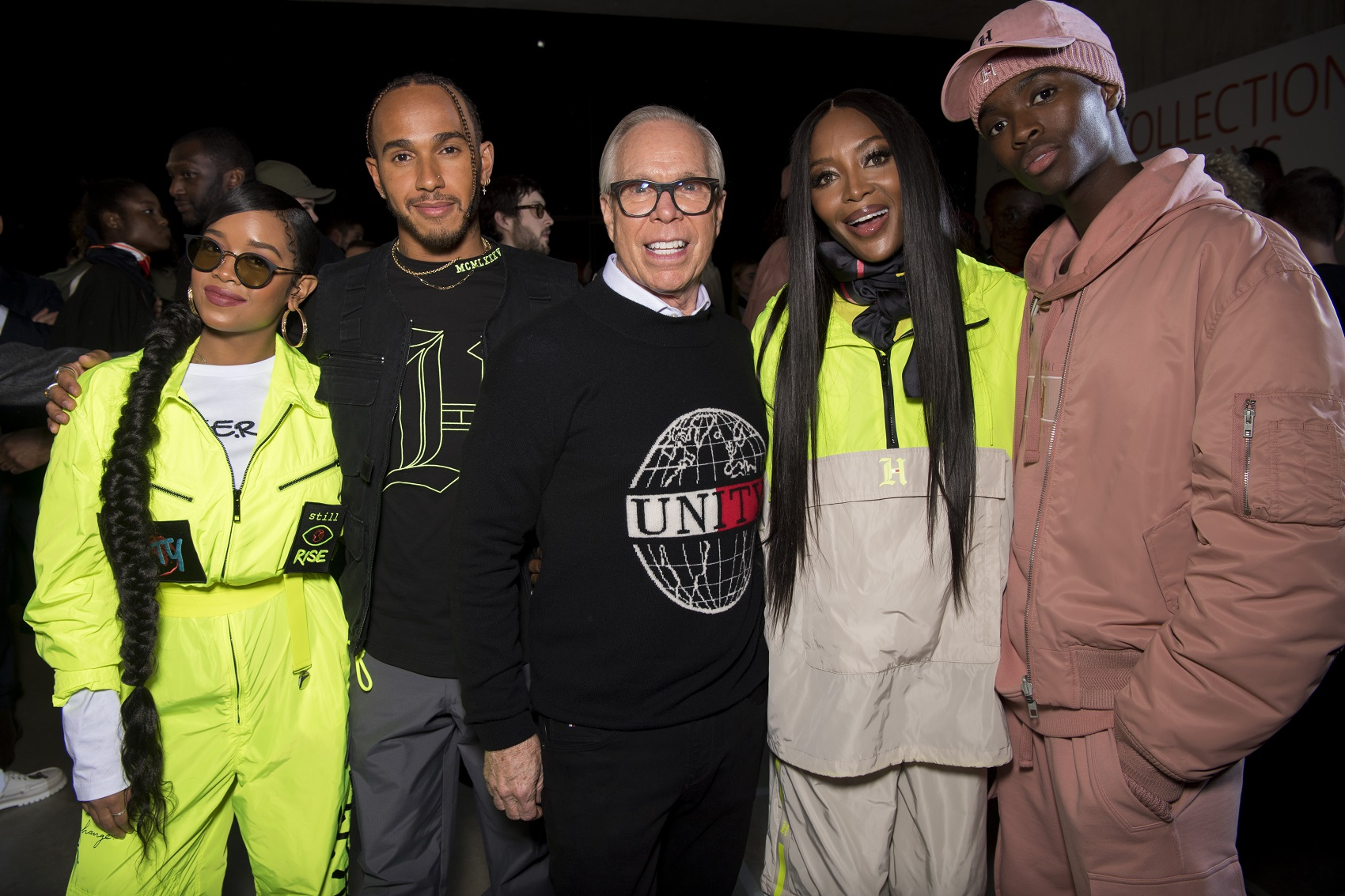 Tommy Hilfiger - Naomi Campbell - HER - Lewis Hamilton