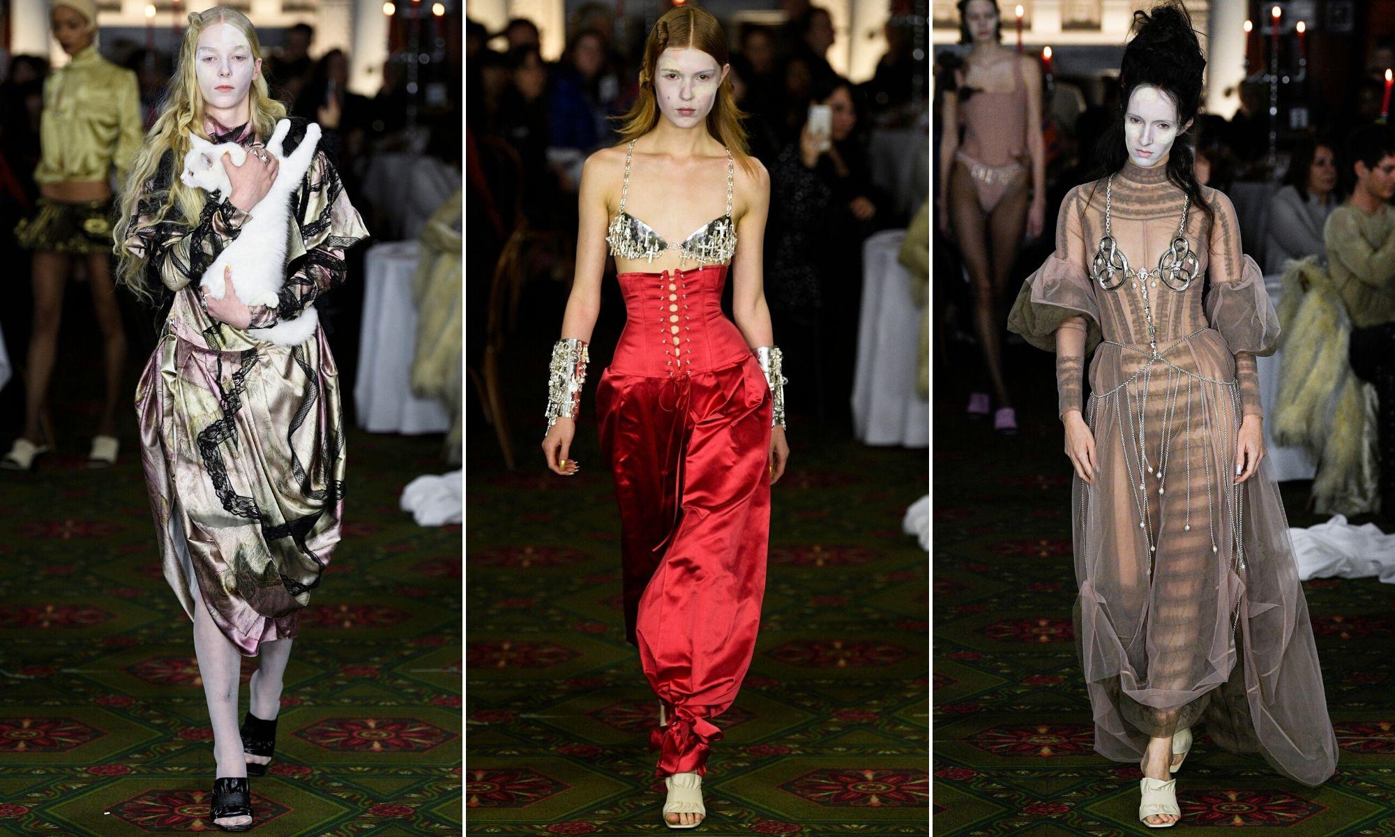 tuần lễ thời trang london thu đông 2020 dilara findikoglu