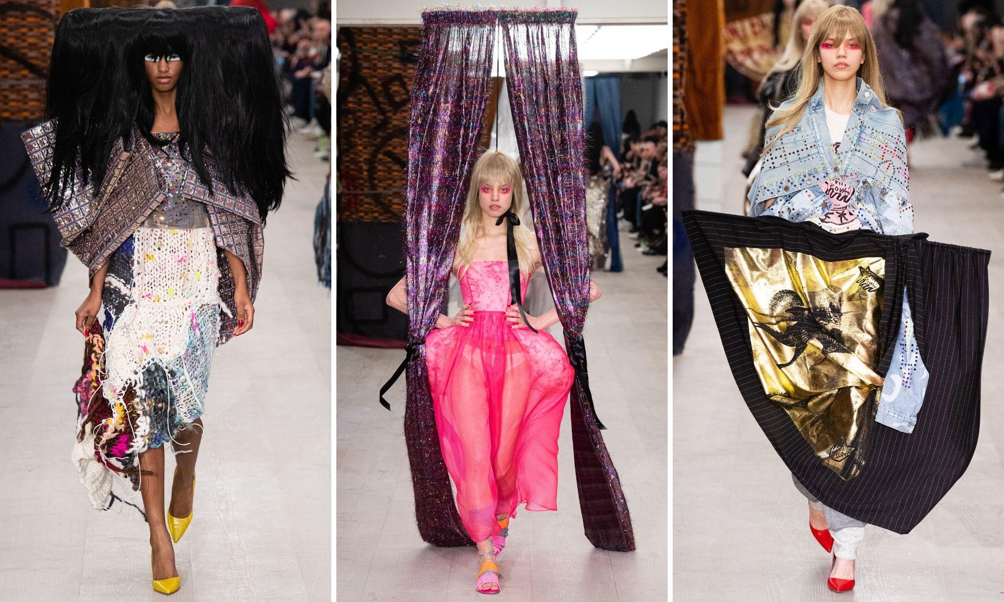 tuần lễ thời trang london thu đông 2020 matty bovan