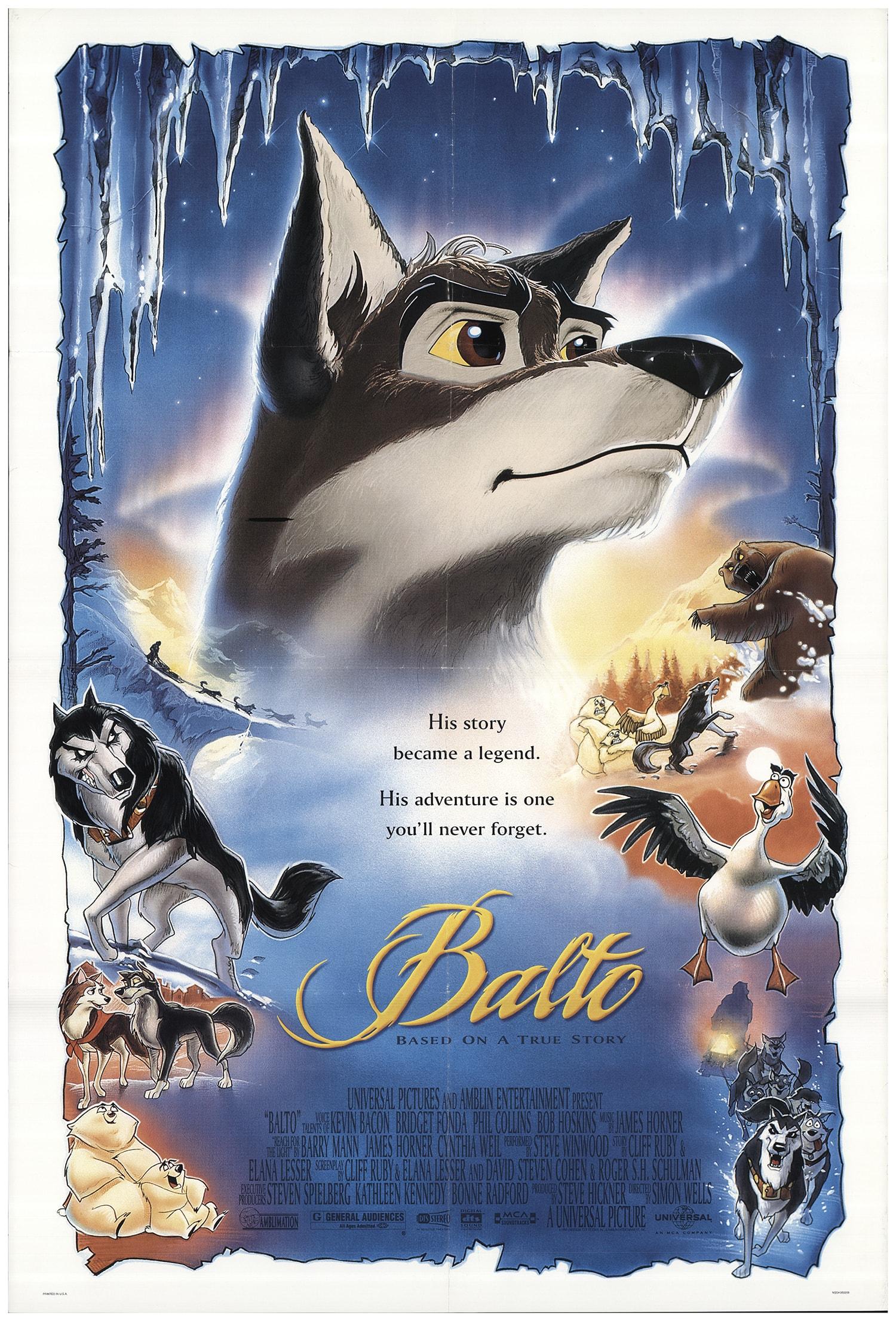 phim chú chó balto mạnh mẽ