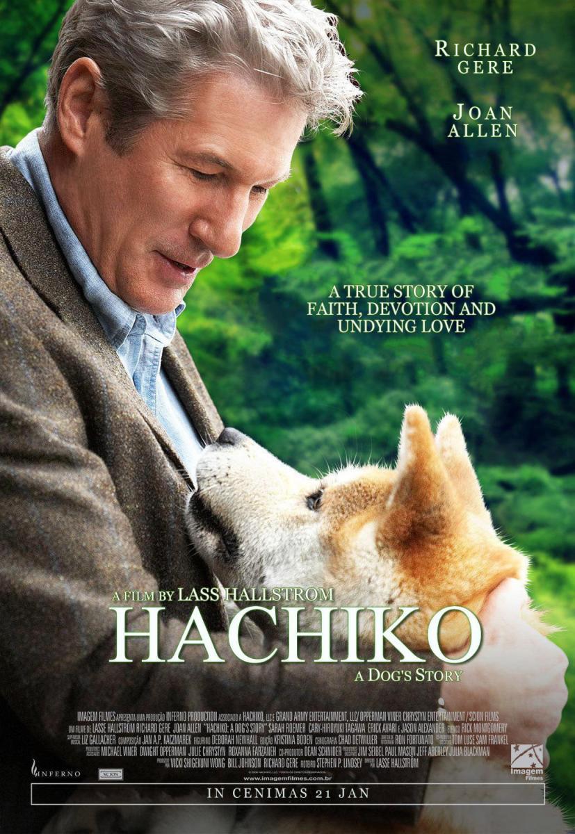 Phim hay Hachiko chú chó trung thành
