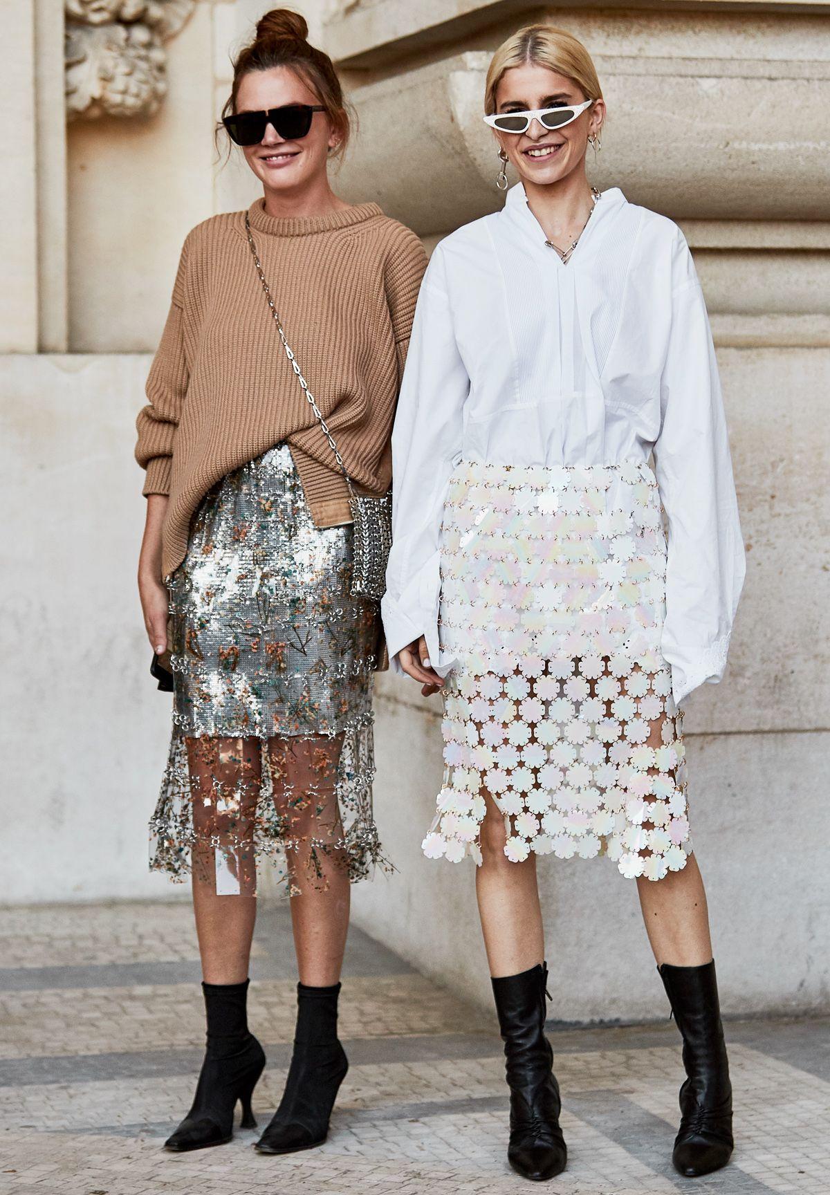 Gợi ý cho thời trang cung hoàng đạo Song Ngư với trang phục có chi tiết lấp lánh