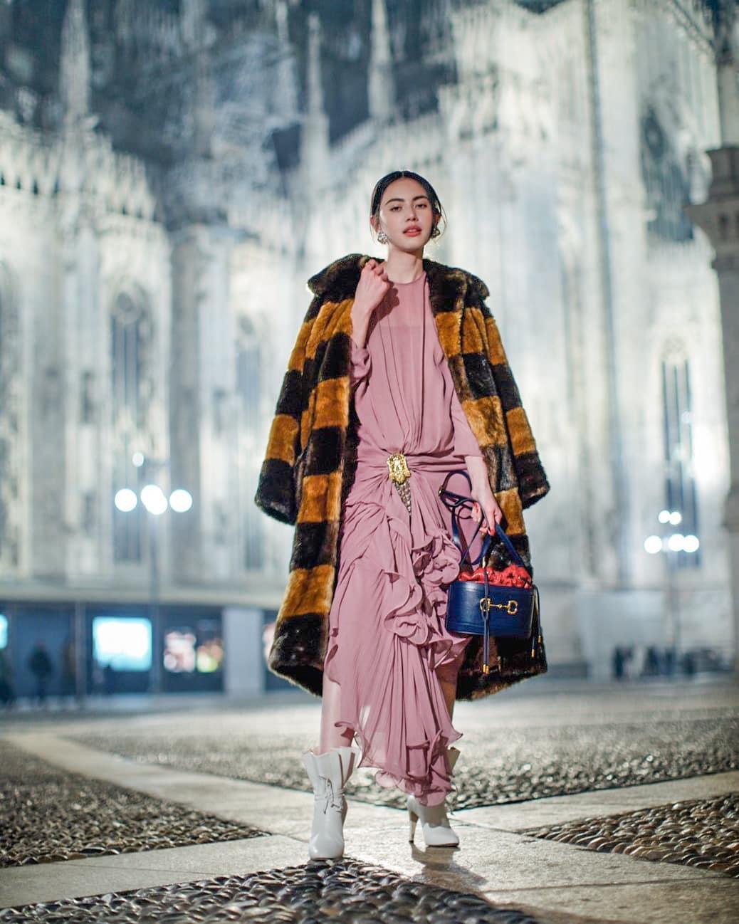 Davika Hoorne xuất hiện xinh đẹp tại Ý