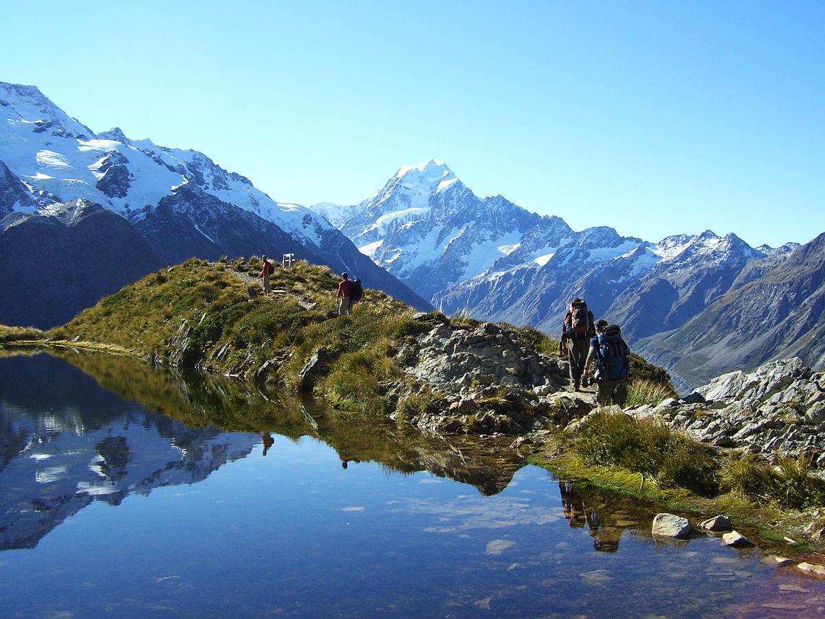 du lịch vườn quốc gia núi Cook