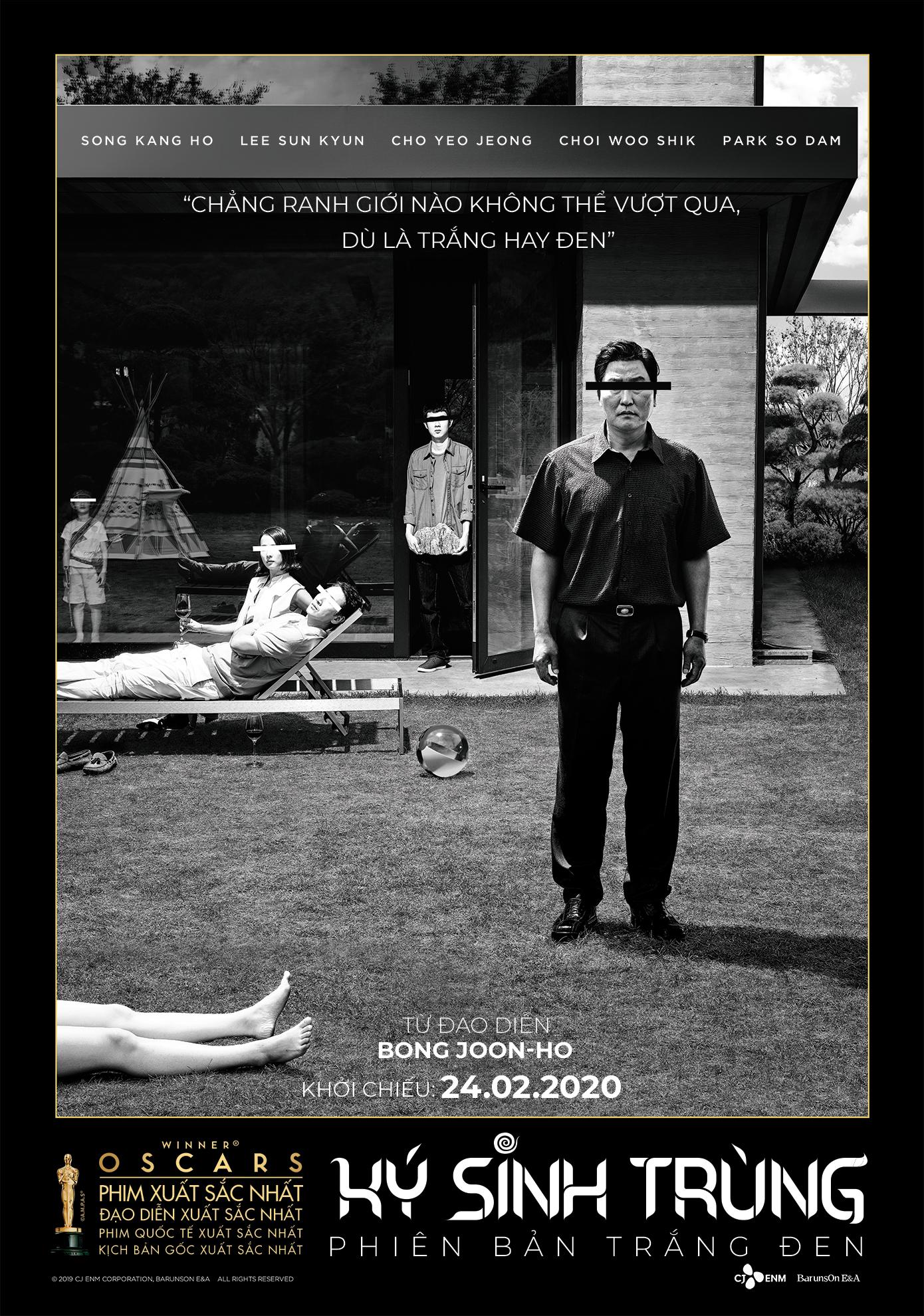poster Ký Sinh Trùng