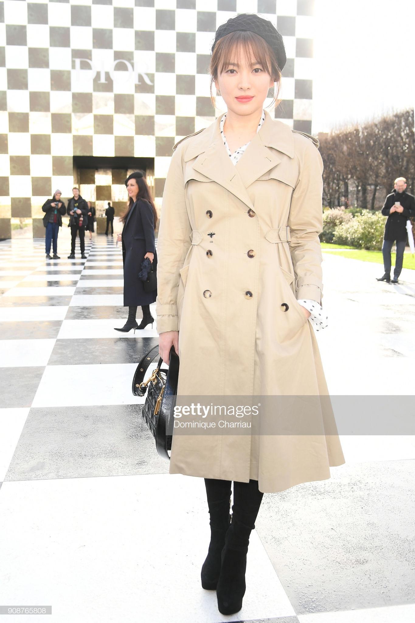 song hye kyo christian dior haute couture xuân hè 2018