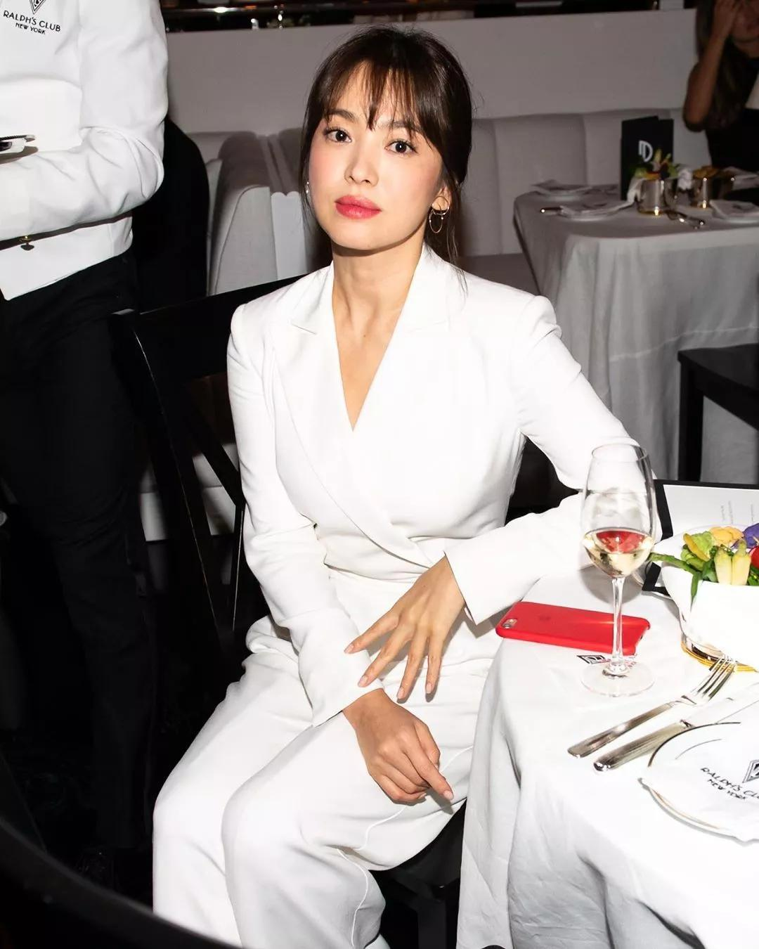 song hye kyo ralph lauren new york xuân hè 2020