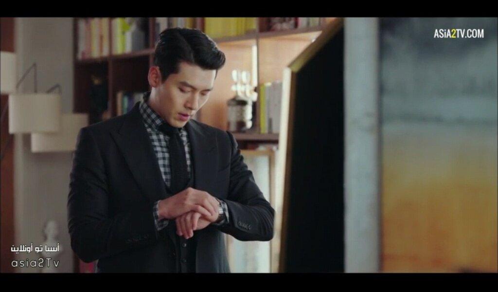 hyun bin mặc vest đeo đồng hồ chopard trong hạ cánh nơi anh