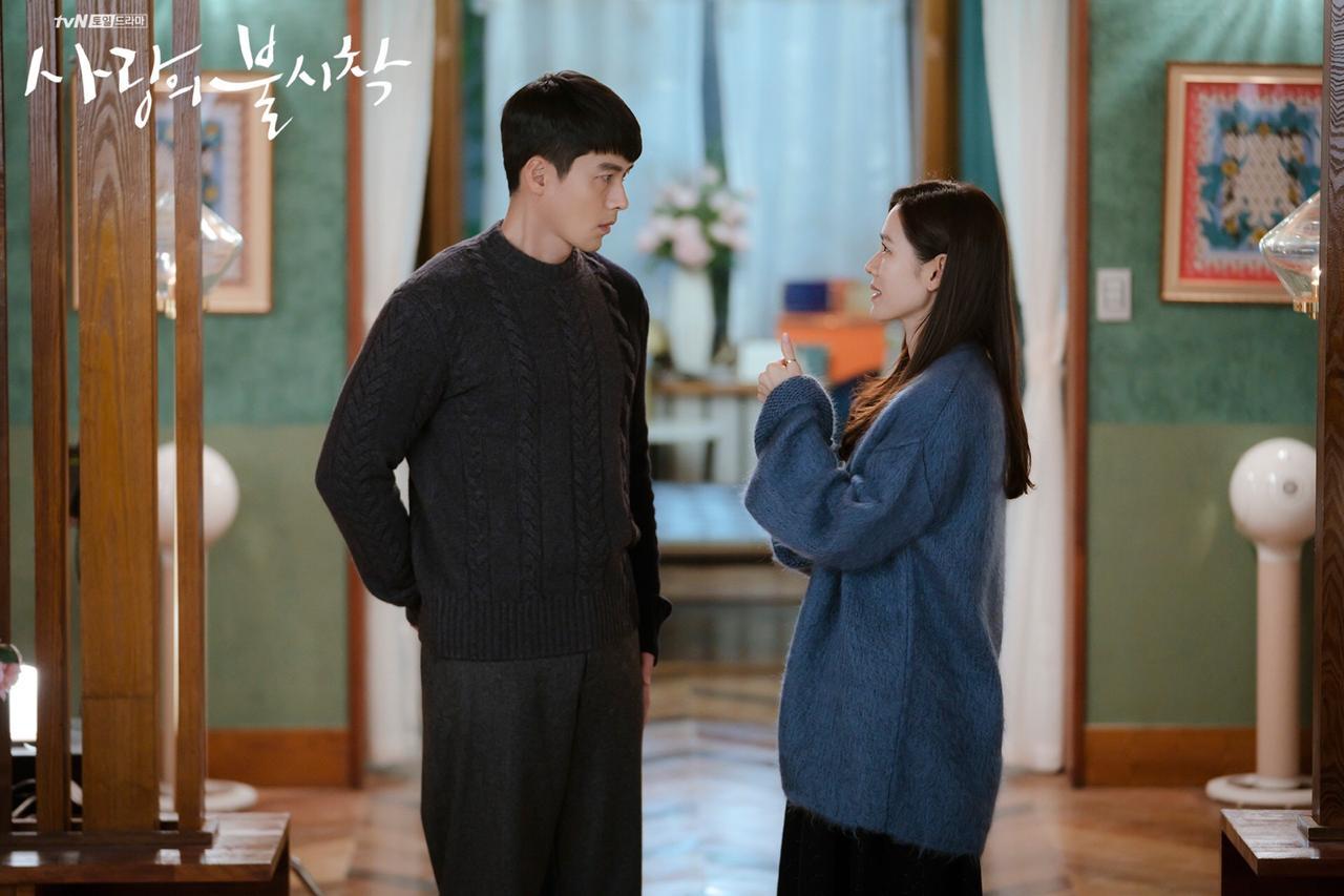 hyun bin và son ye jin trong tập 13 hạ cánh nơi anh