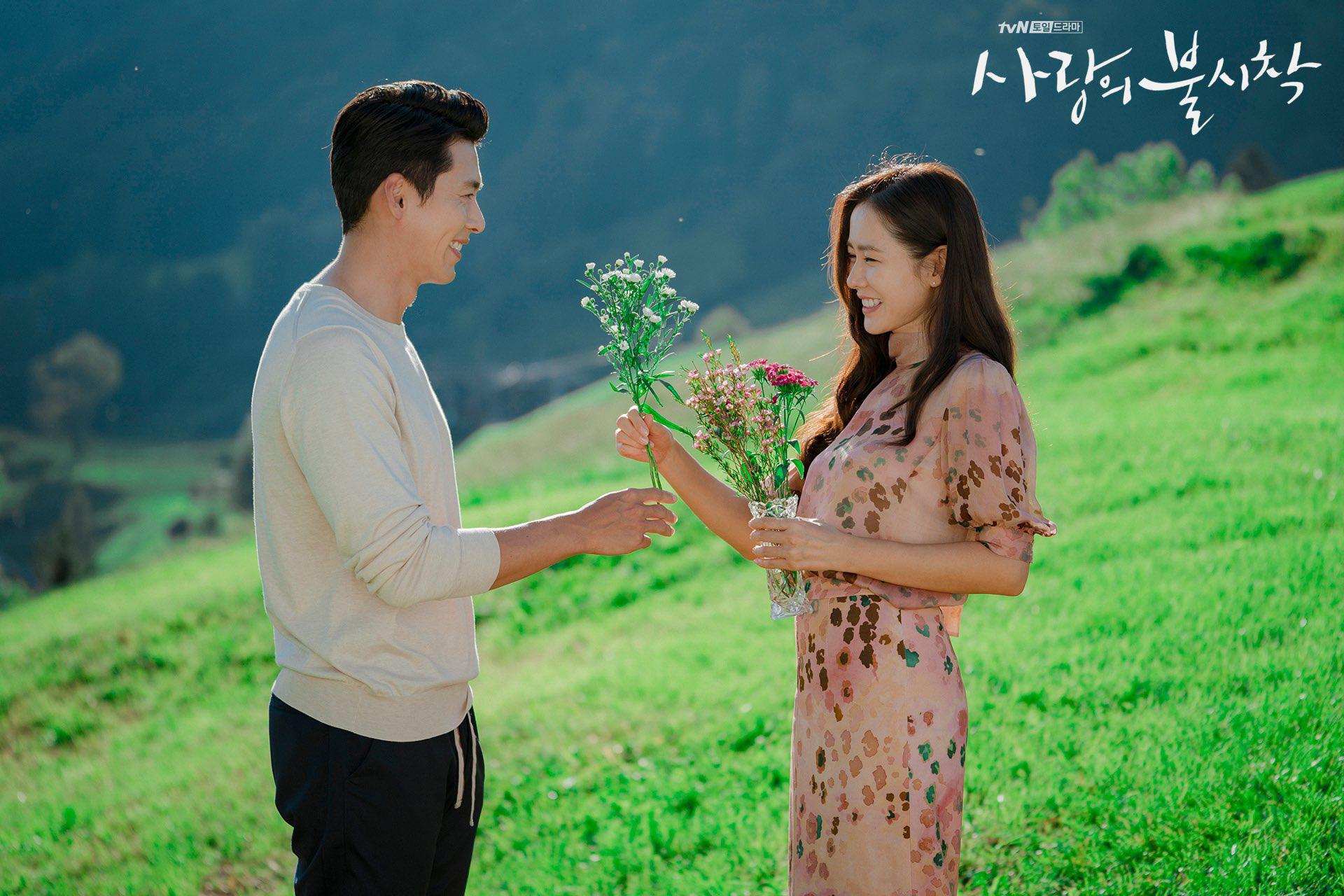 son ye jin và hyun bin trong tập cuối hạ cánh nơi anh