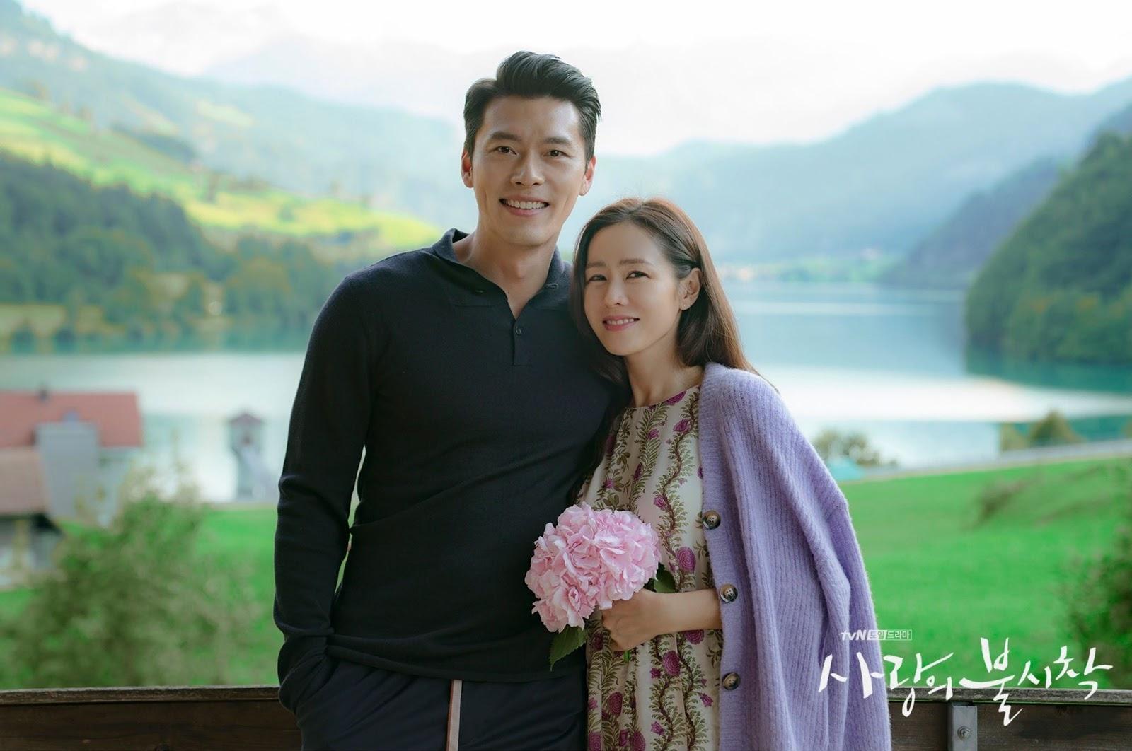 son ye jin và hyun bin trong tập cuối hạ cánh nơi anh 3