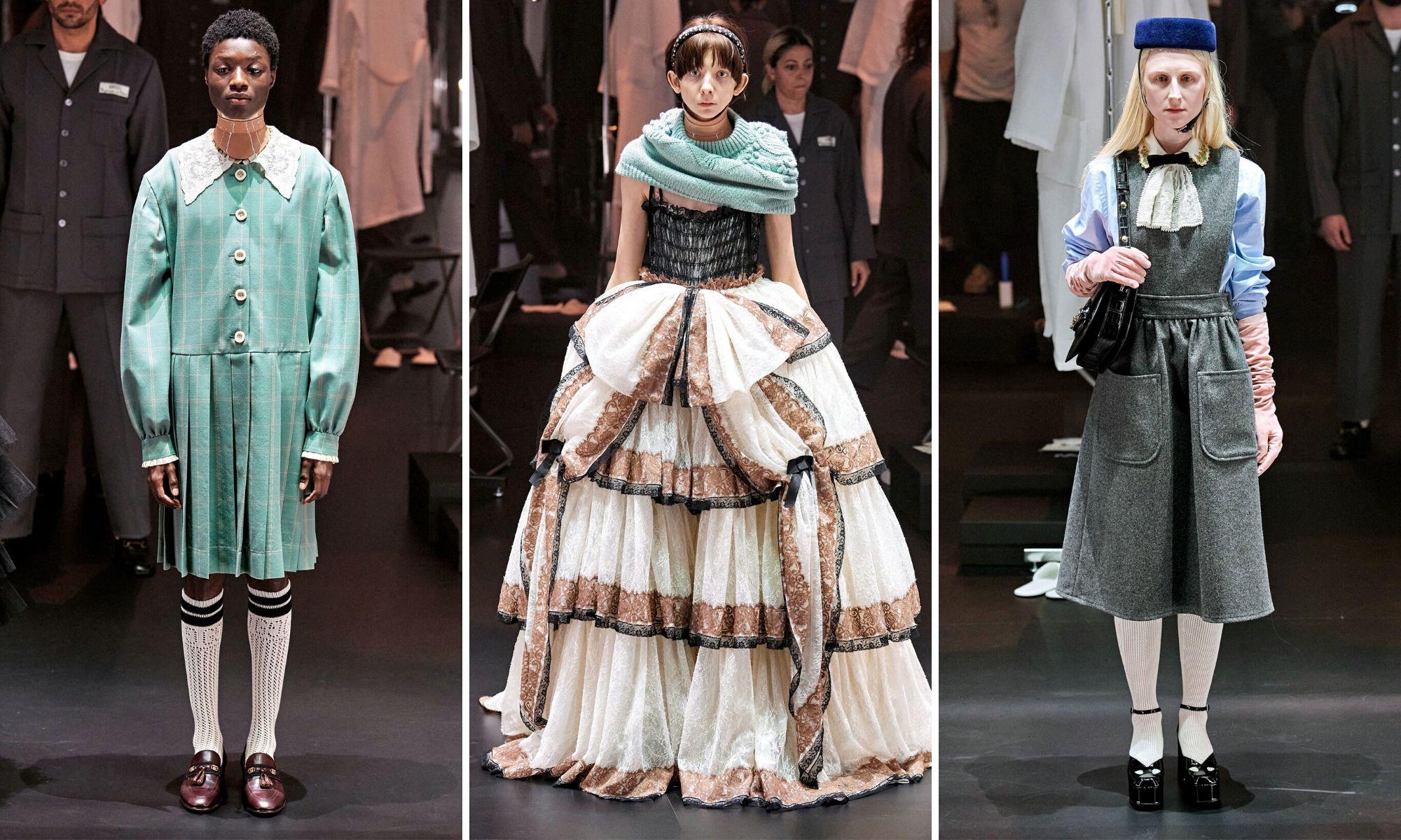 bst gucci thu đông 2020 tuần lễ thời trang milan