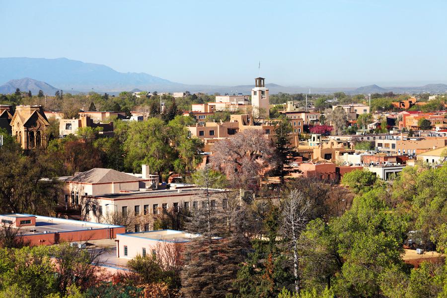 thành phố Santa Fe - New Mexico