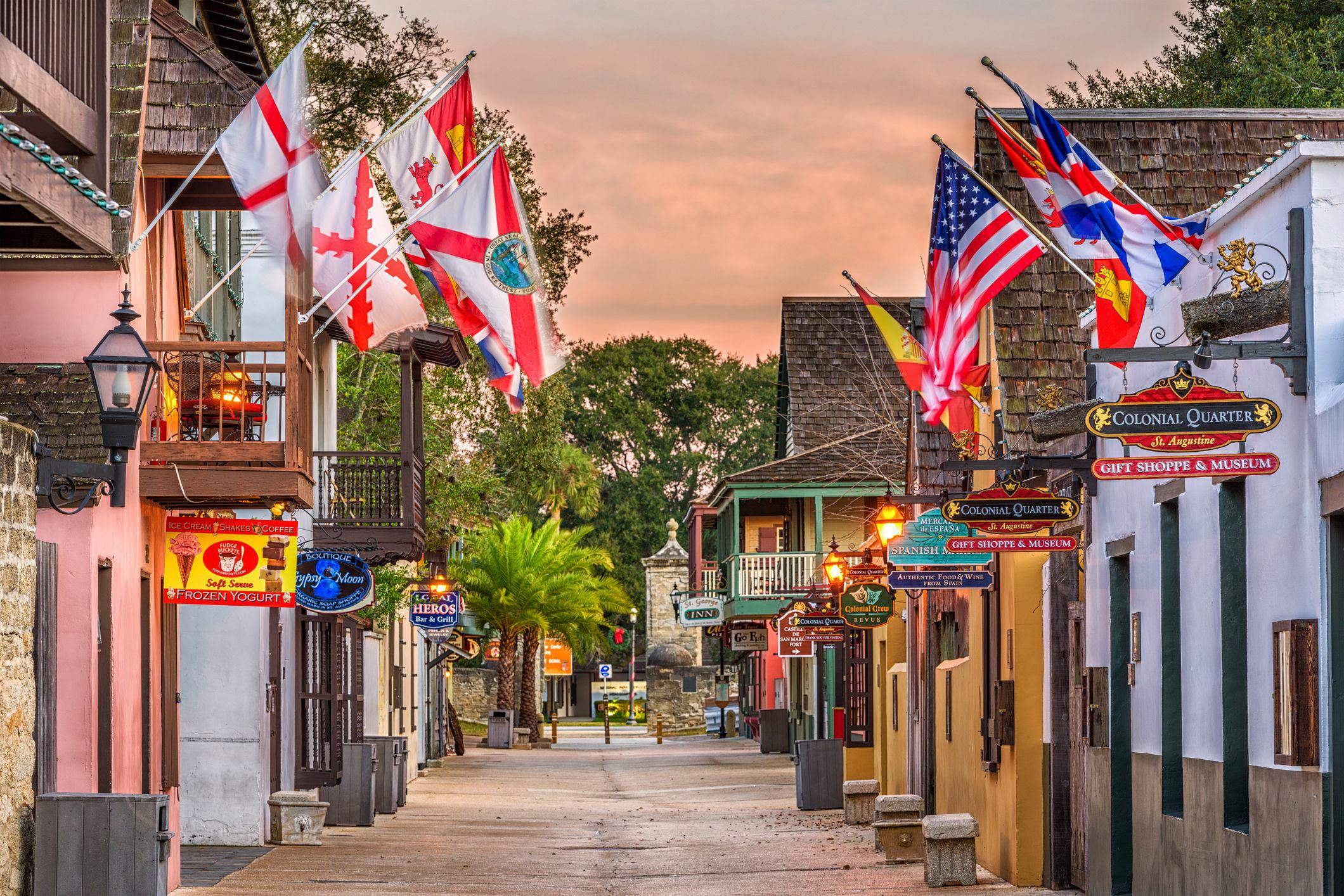 thành phố 1. St. Augustine, Florida