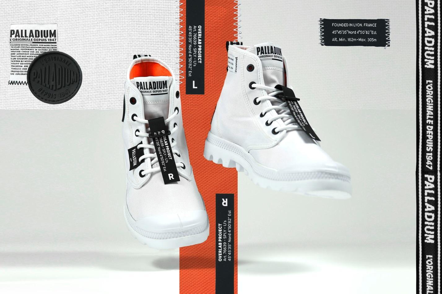 BST Overlab của Palladium với những thiết kế giày có ý nghĩa vô cùng đặc biệt