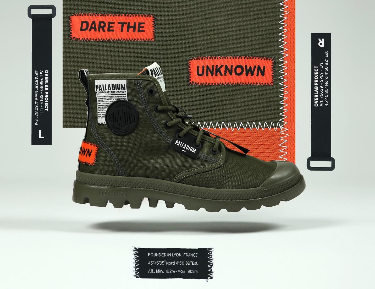 Palladium ra mắt BST giày mới mang tên Overlab