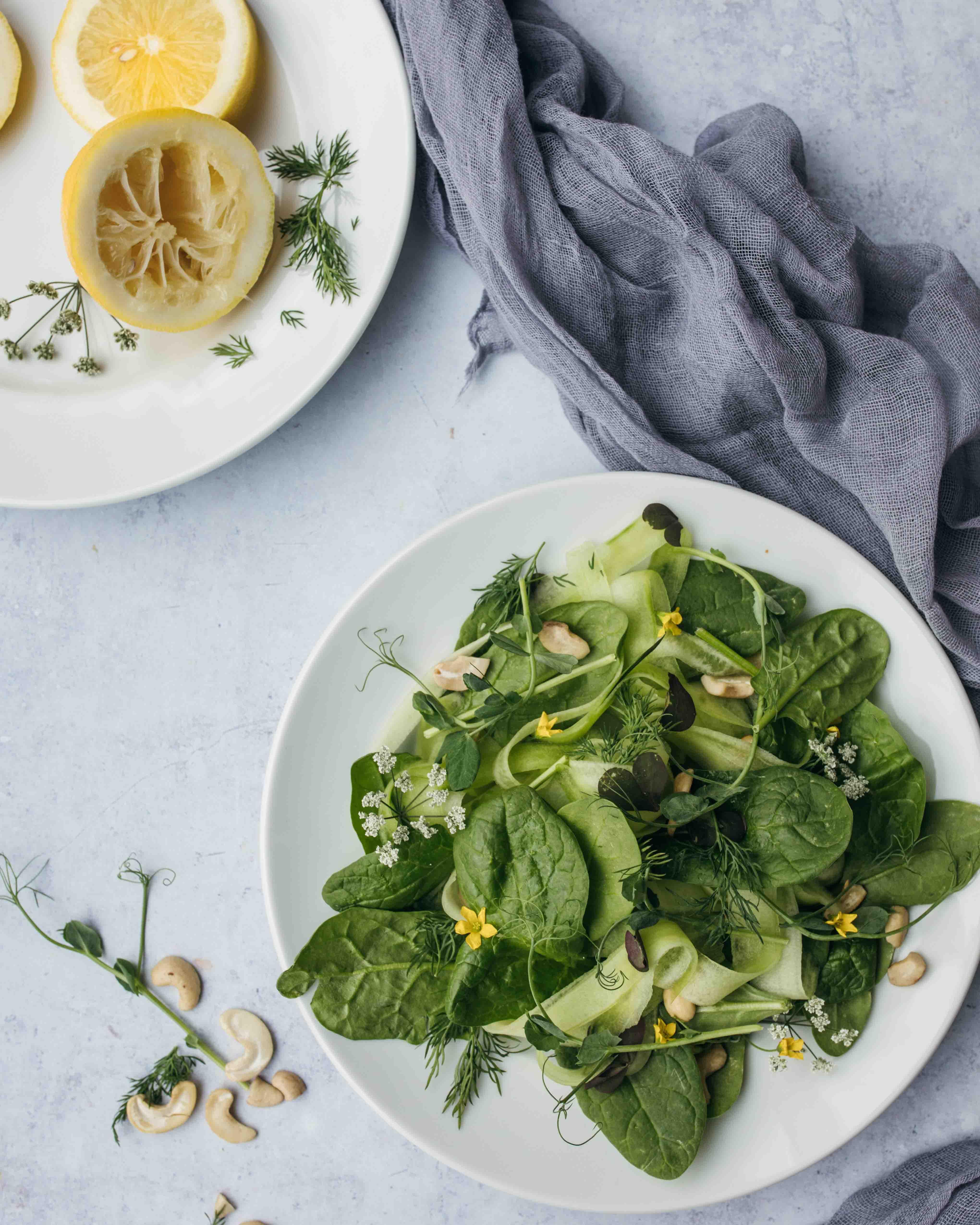 đĩa salad