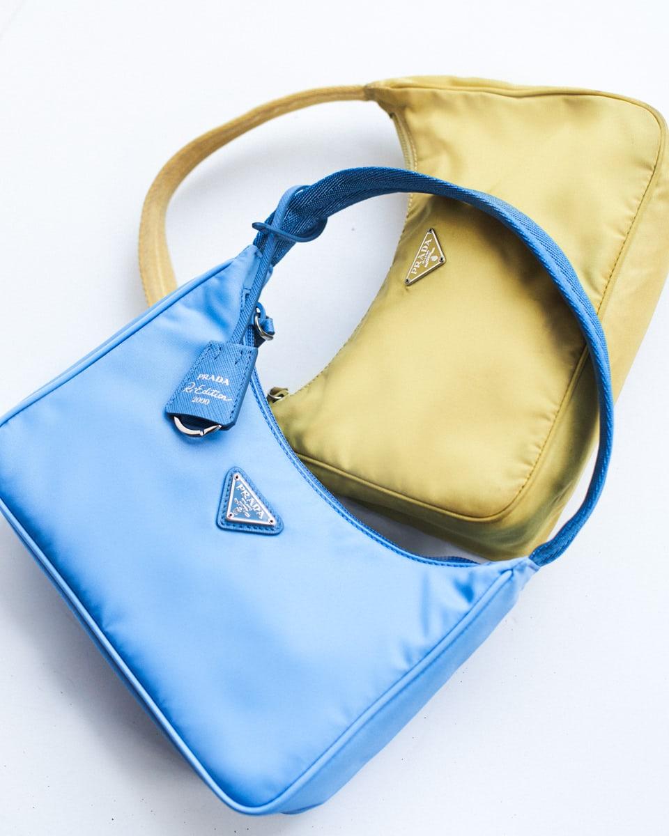 túi prada nylon re-edition 2000 và vintage
