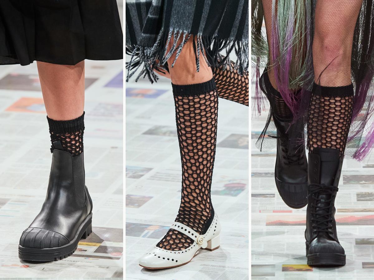 """Các thiết kế giày được """"lăng xê"""" trong BST Christian Dior Thu - Đông 2020"""