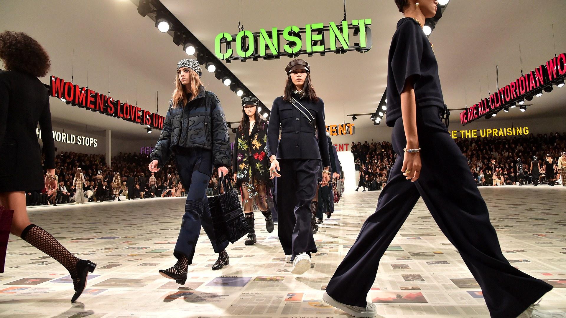 Hình ảnh ấn tượng tại sàn diễn Thu - Đông 2020 của Christian Dior