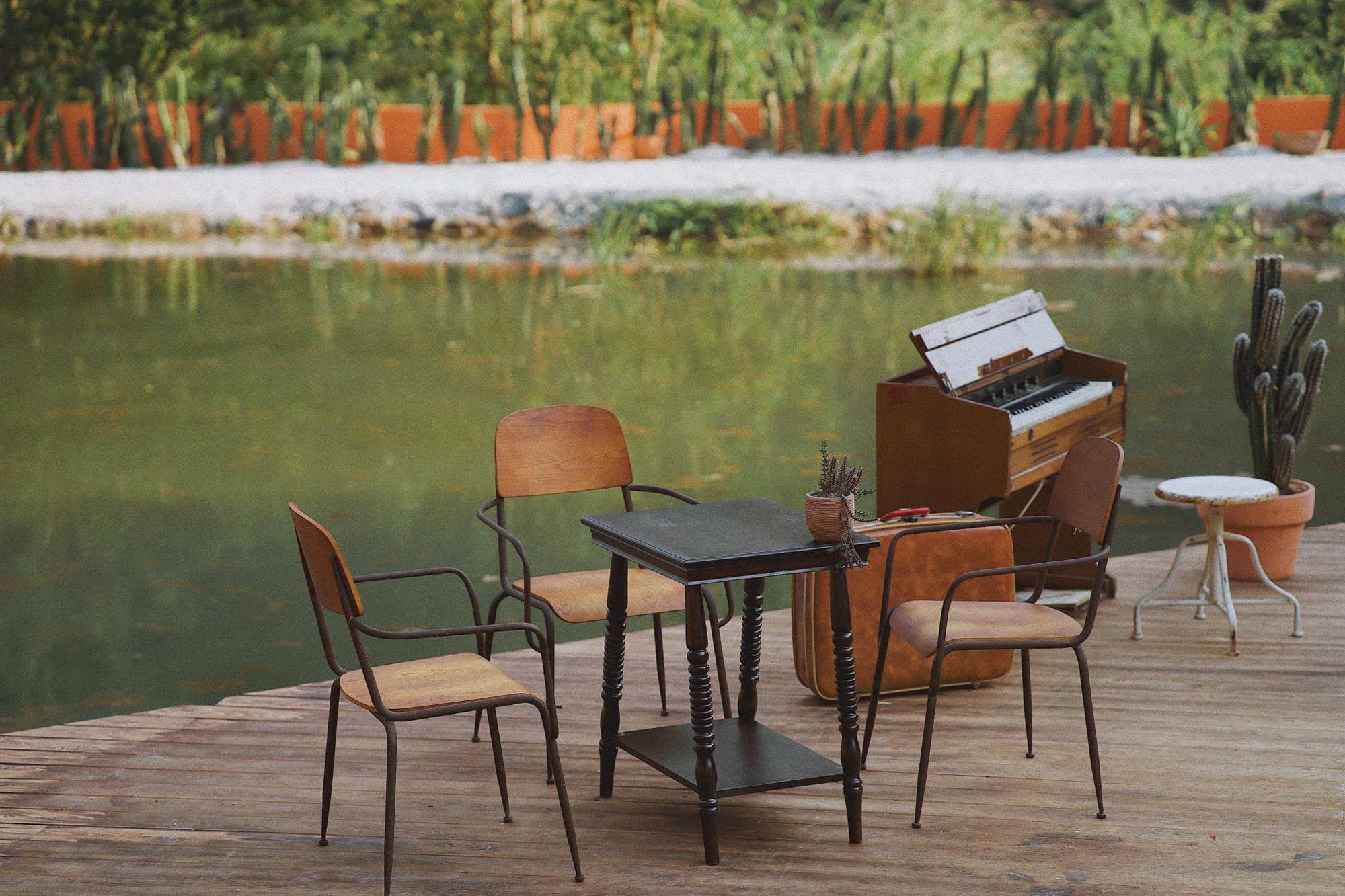 địa điểm không gian quán cà phê