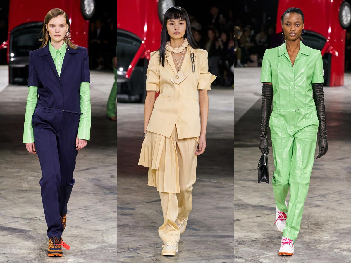 Tin thời trang về sàn diễn Thu - Đông 2020 của Off-White