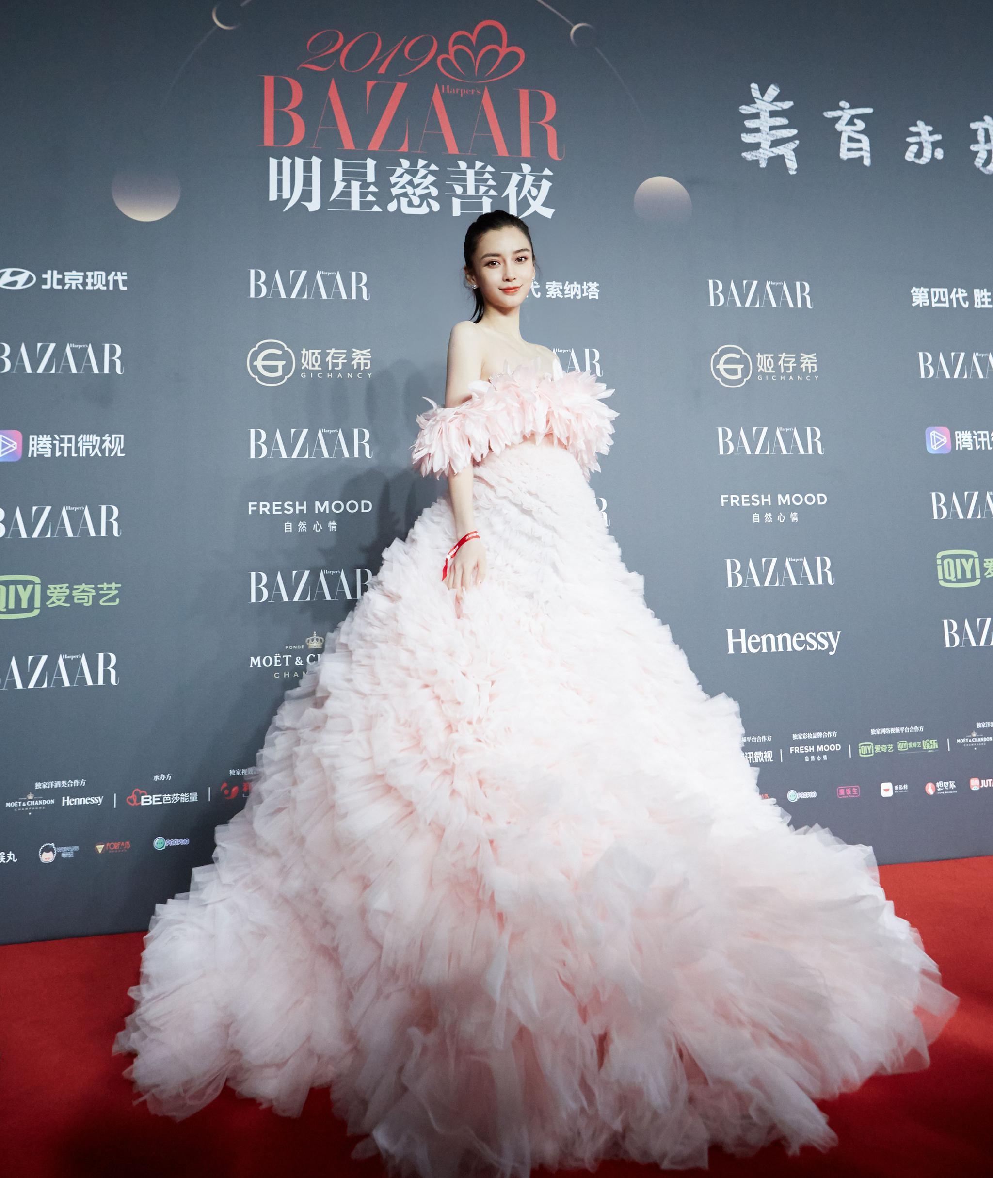 angelababy diện đầm giambattista valli haute couture 2019
