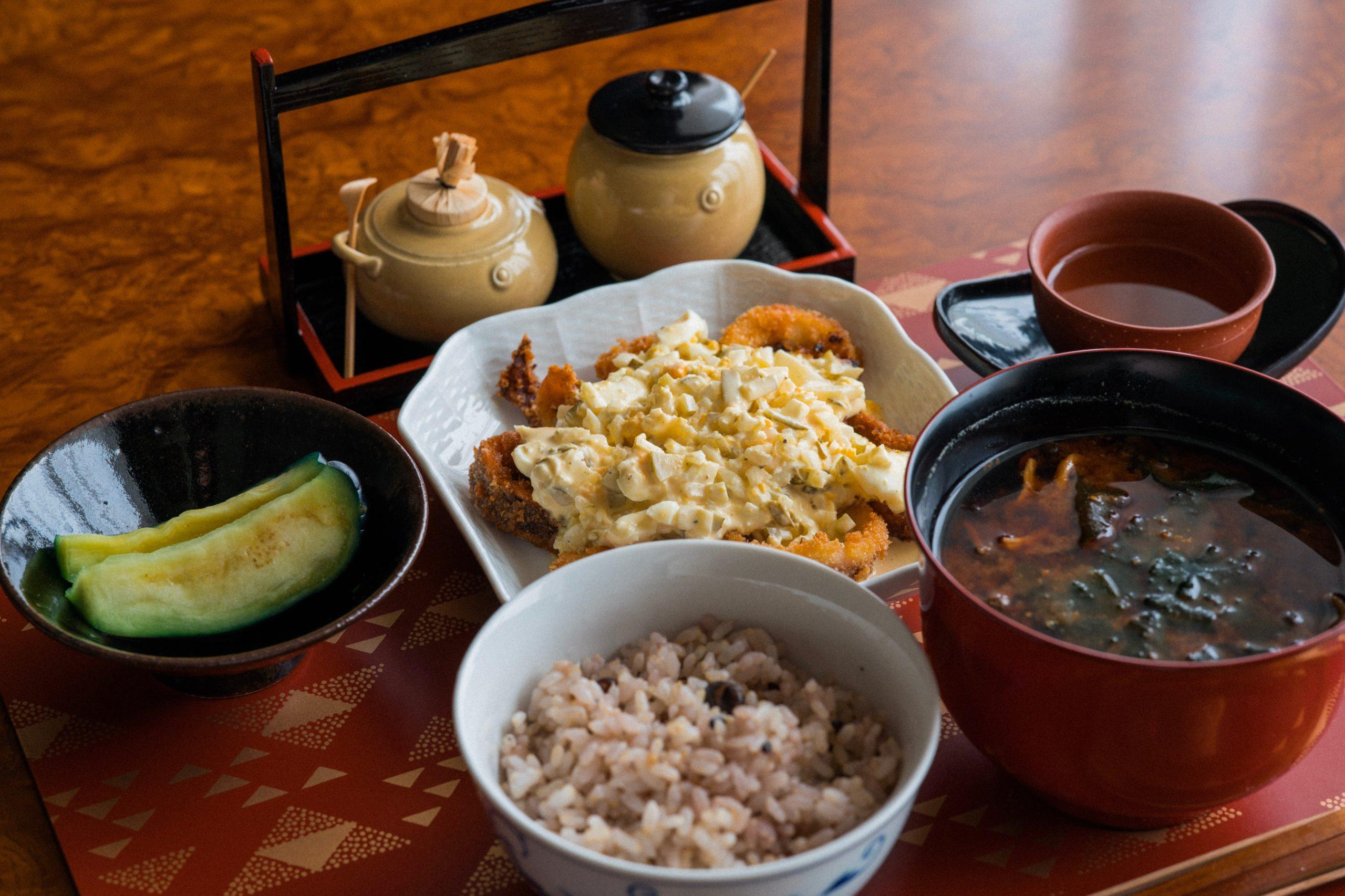 Chế độ ăn kiêng giảm cân-Món ăn kiểu Nhật.