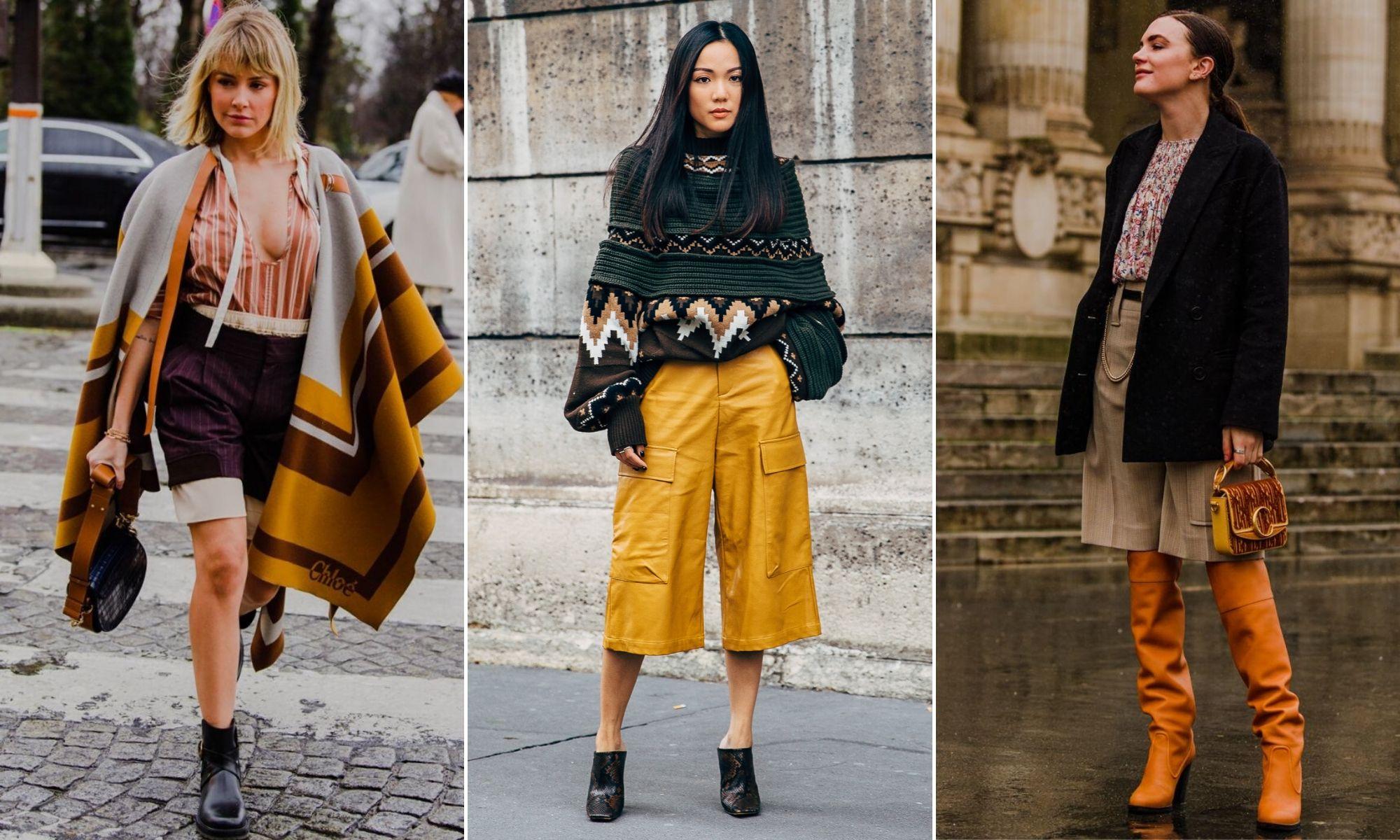 xu hướng thời trang 2020 thu đông street style