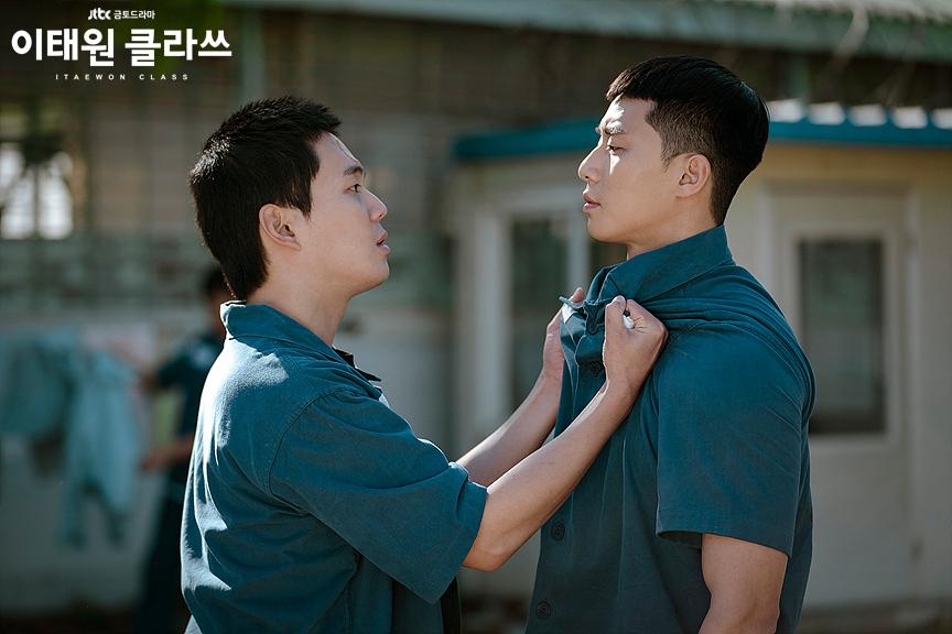 Choi Seung Kwon ẩu đả với Park Sae Ro Yi trong nhà tù ở tầng lớp Itaewon