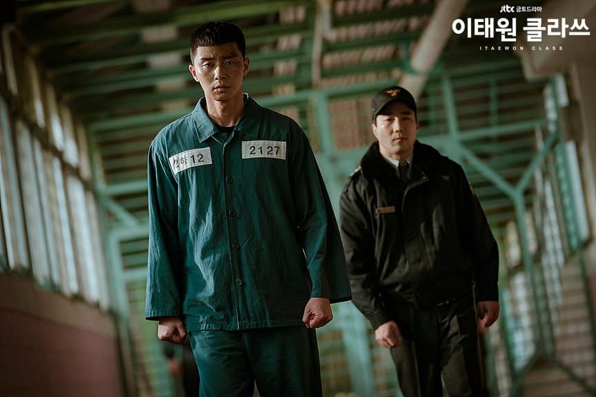 Park Sae Ro Yi trong tù
