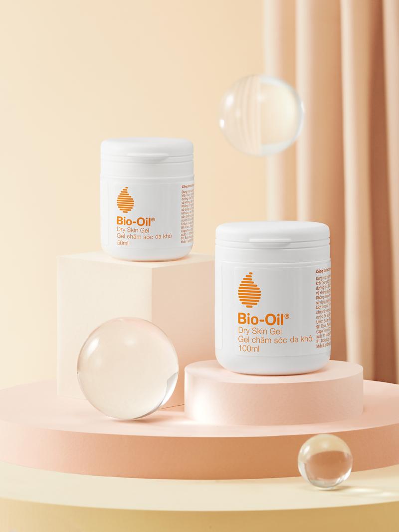 Bio-oil-Hai lọ gel dưỡng ẩm.
