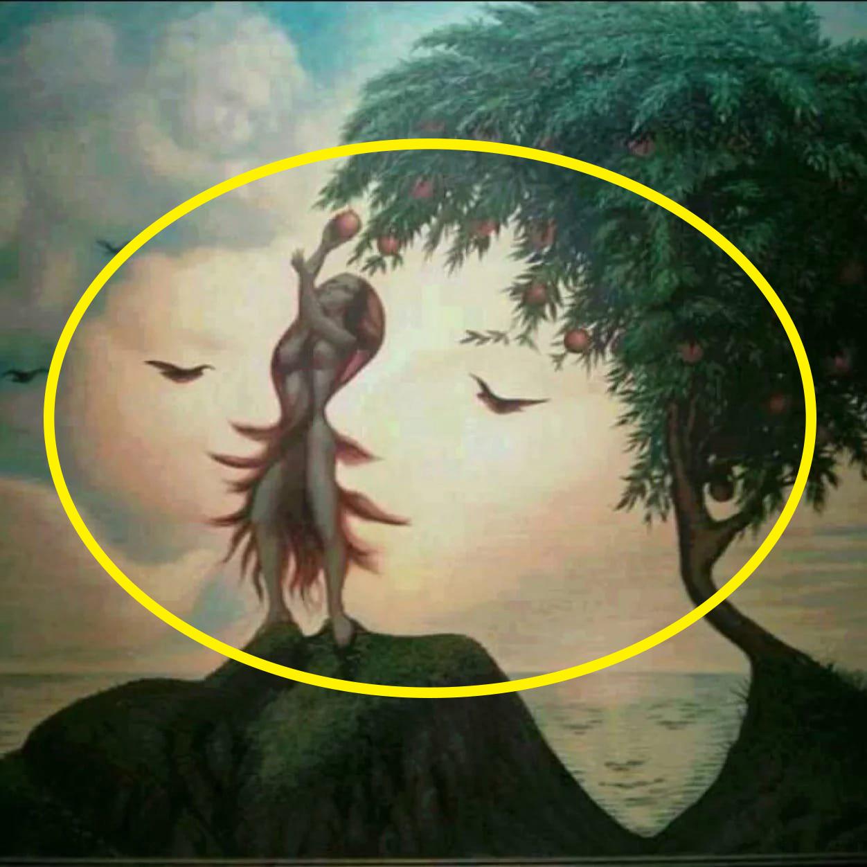 hình ảnh hai gương mặt