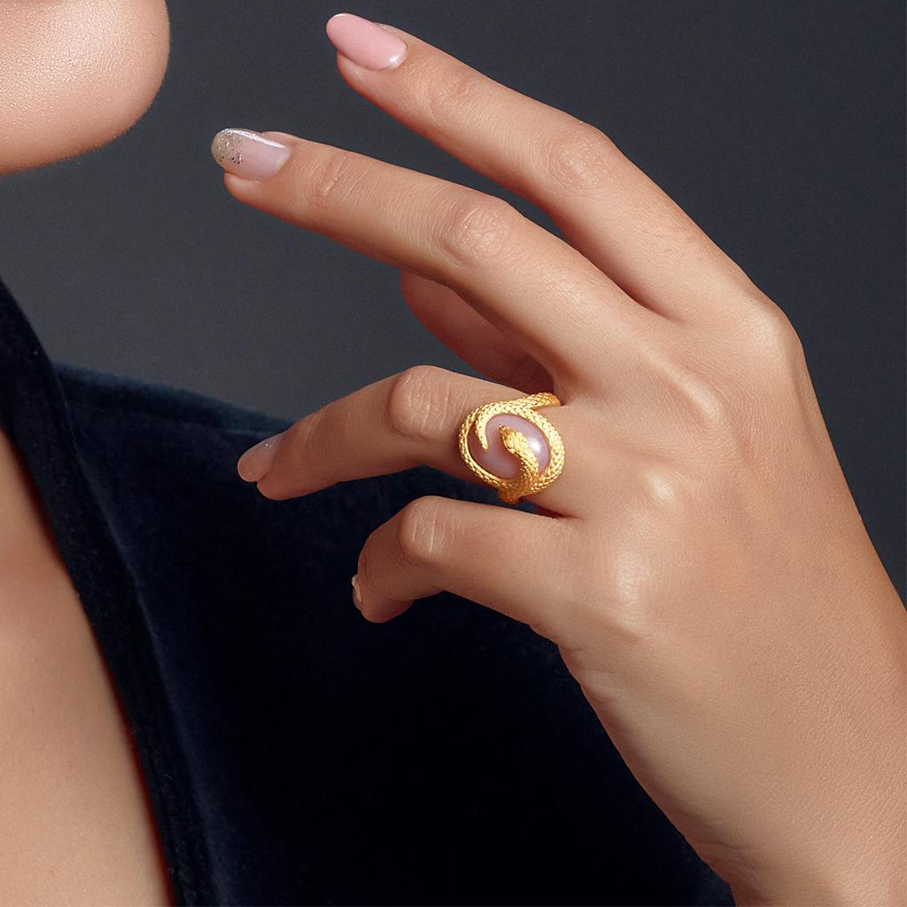 nhẫn bst serpent prima fine jewelry