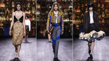 BST Louis Vuitton Thu - Đông 2020: Bản giao hưởng mê hoặc của thời trang