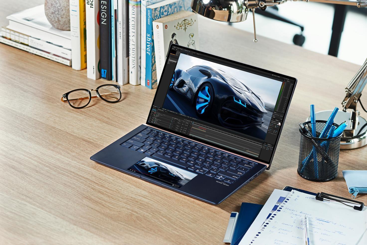 laptop ASUS ZenBook hiệu năng mạnh mẽ