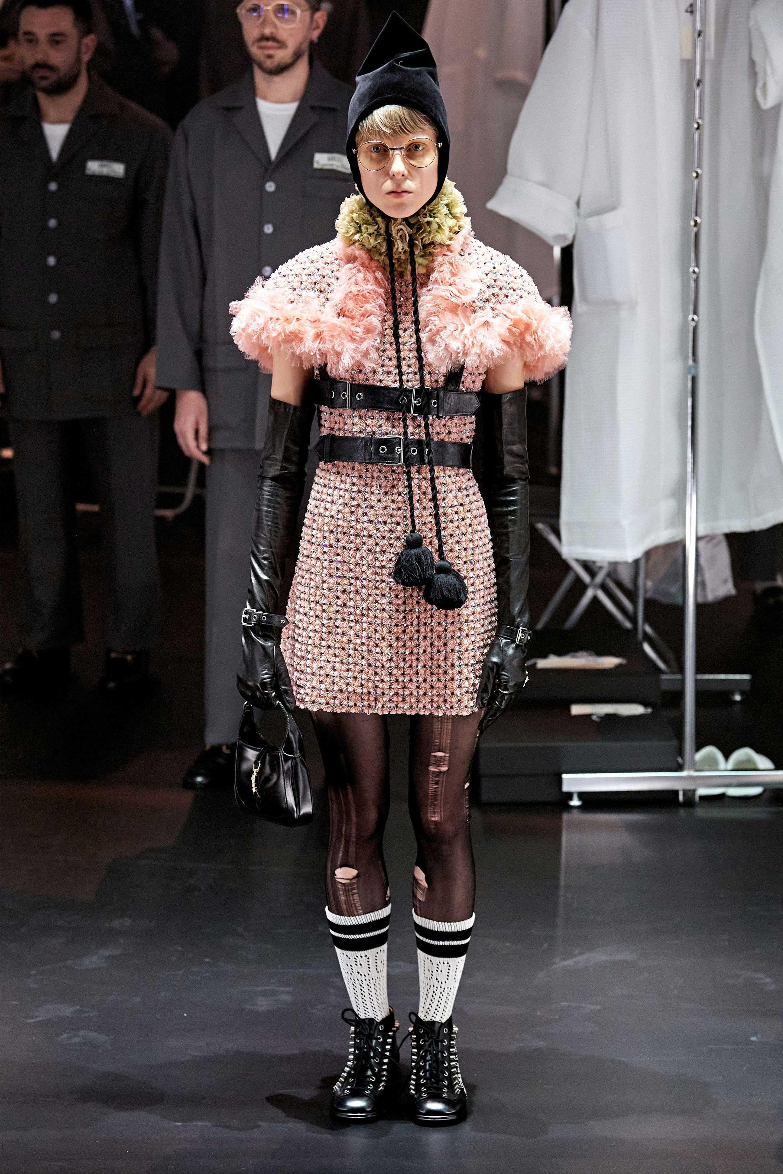 Thiết kế đầm từ BST Gucci Thu - Đông 2020