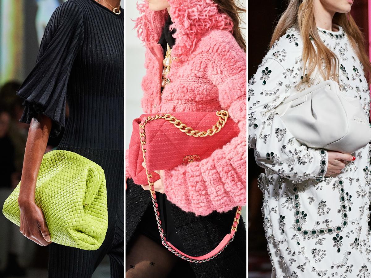 Xu hướng túi xách cỡ lớn cầm tay từ Tuần lễ thời trang Thu - Đông 2020
