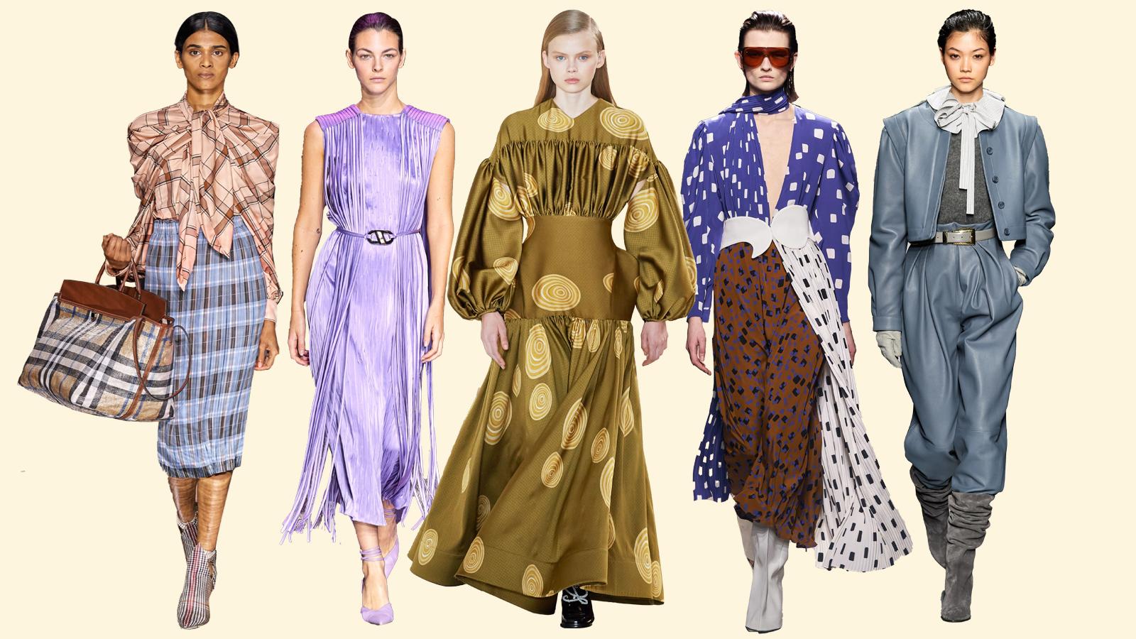 Xu hướng thời trang Thu Đông 2020: Sự lên ngôi của phong cách maximalism |  ELLE