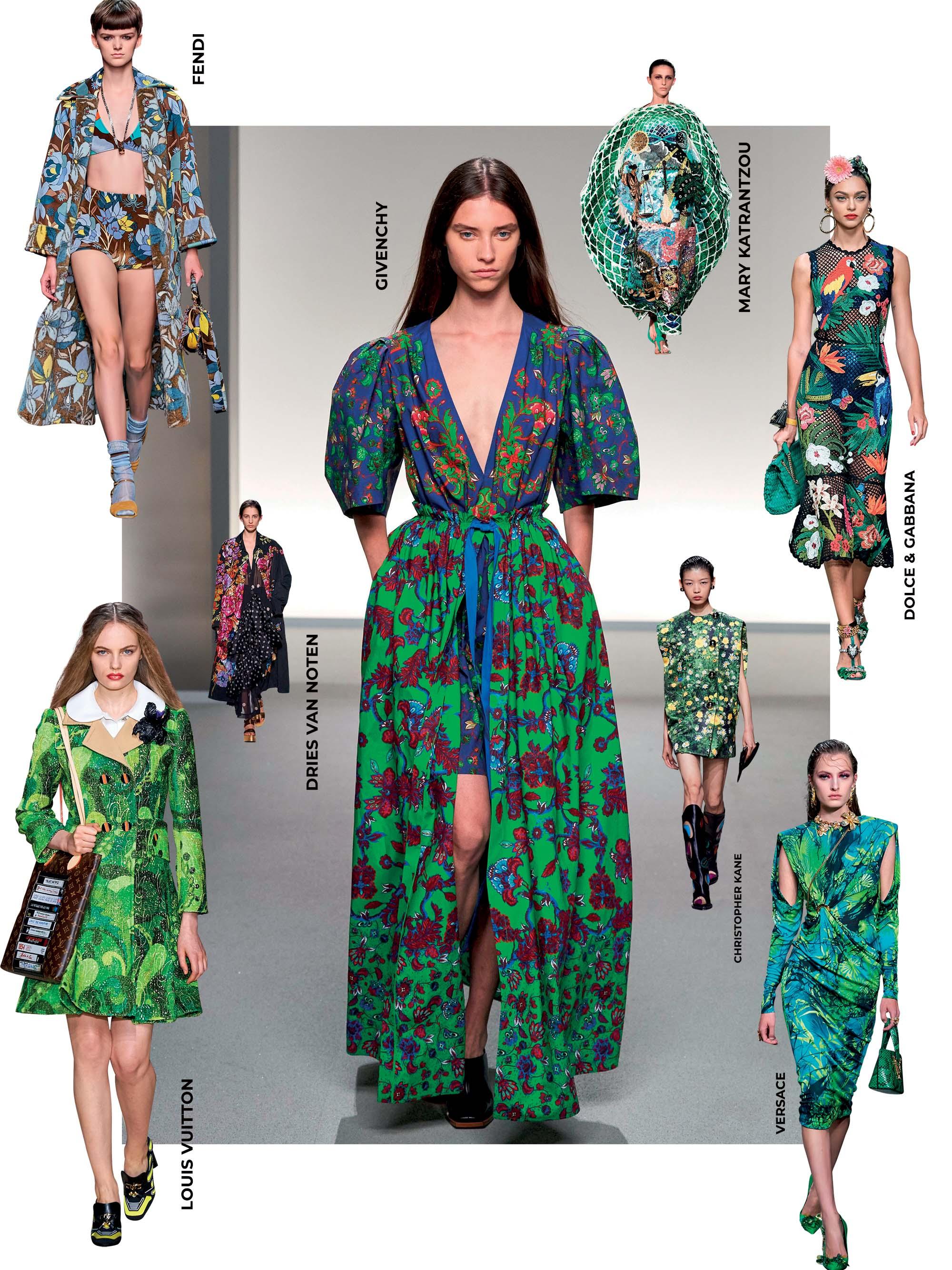 xu hướng thời trang cảm hứng nhiệt đới