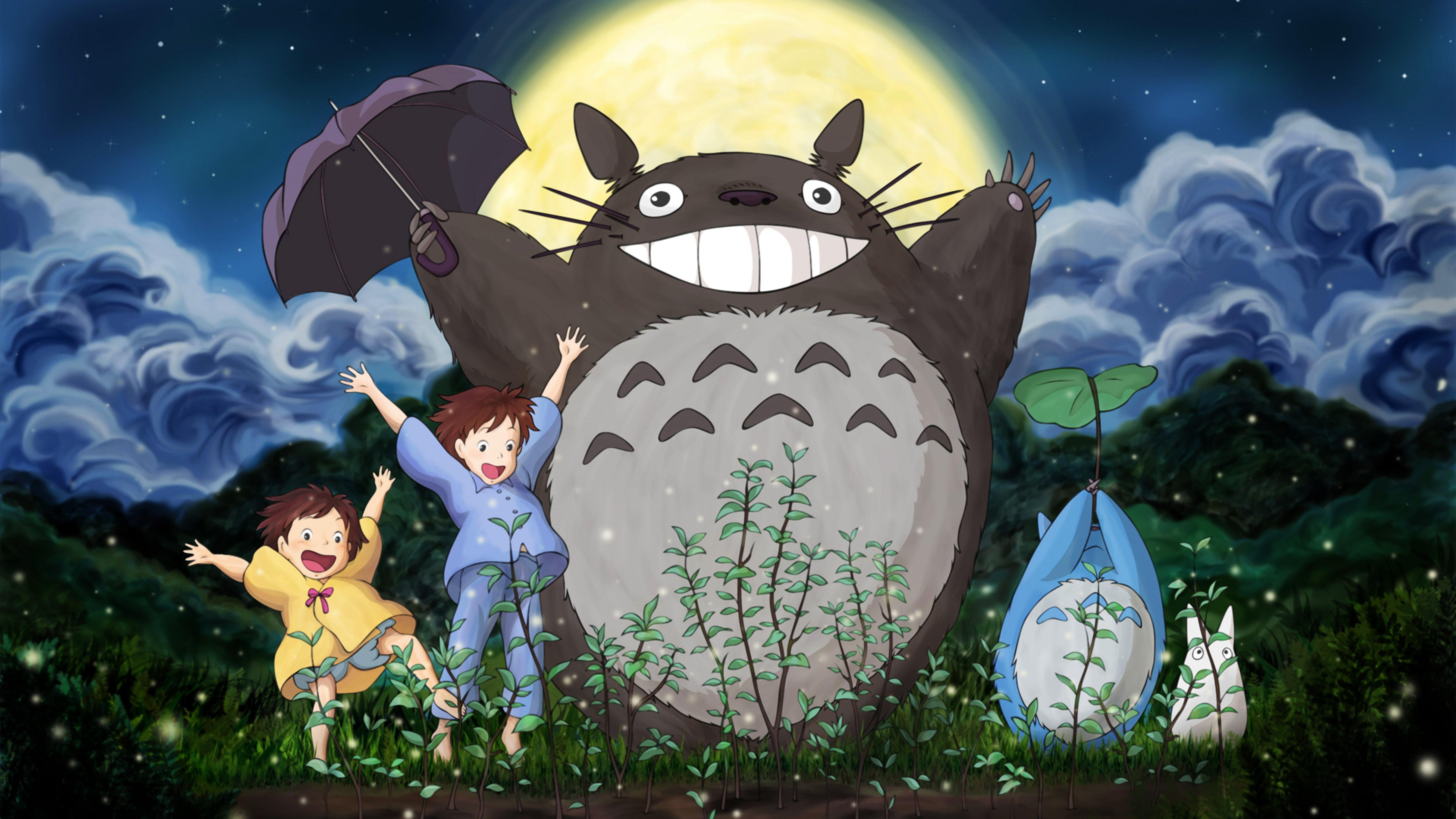 phim hoạt hình Hàng Xóm Của Tôi Là Totoro Studio Ghibli