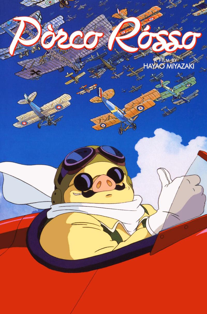 phim hoạt hình Porco Rosso Studio Ghibli