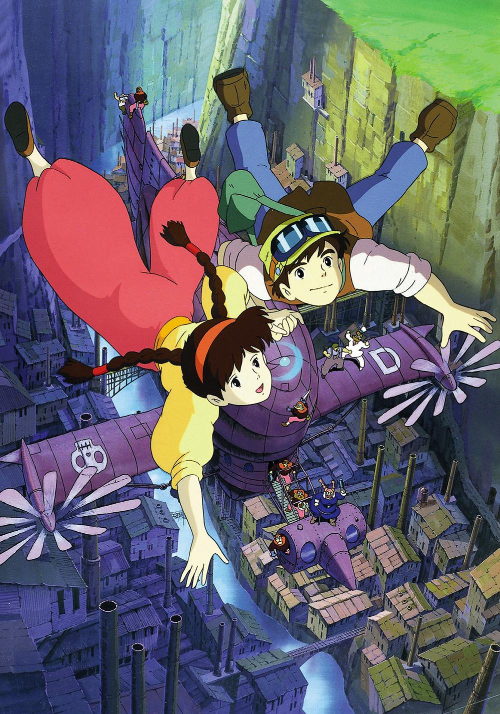phim hoạt hình Lâu Đài Trên Không Studio Ghibli
