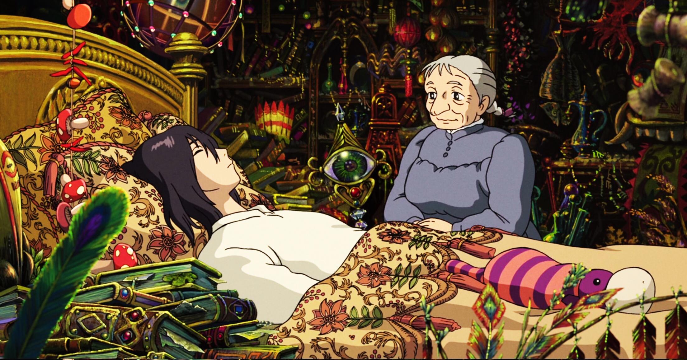 Lâu Đài Di Động Của Howl Studio Ghibli