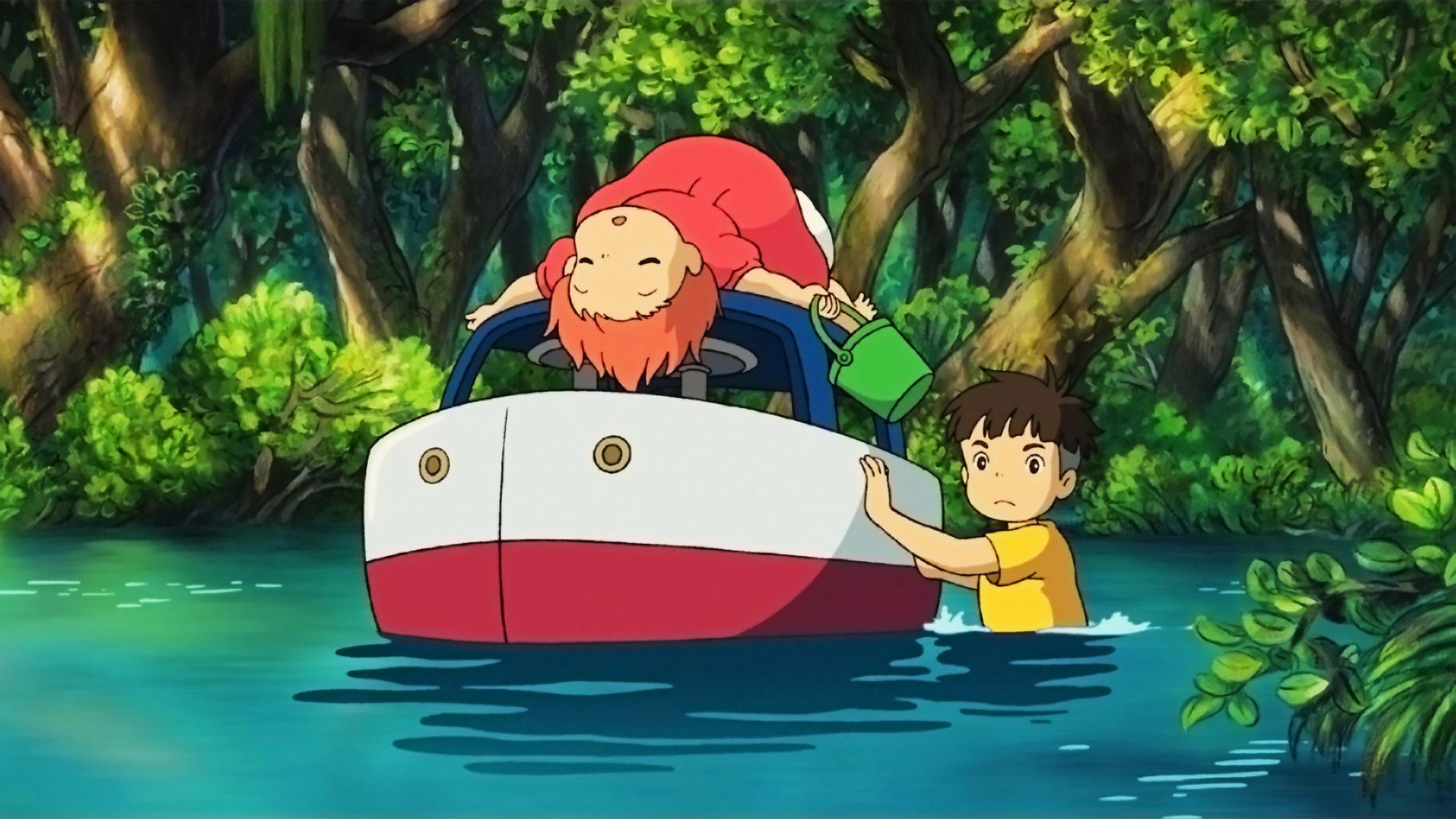 Nàng Tiên Cá Ponyo Studio Ghibli
