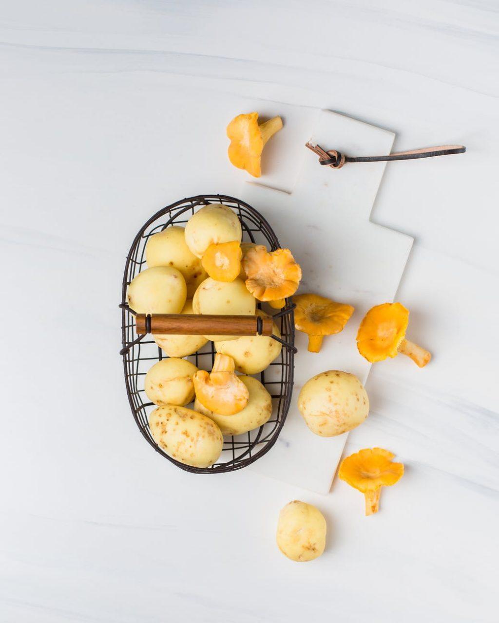Trị thâm mụn-Giỏ khoai tây.