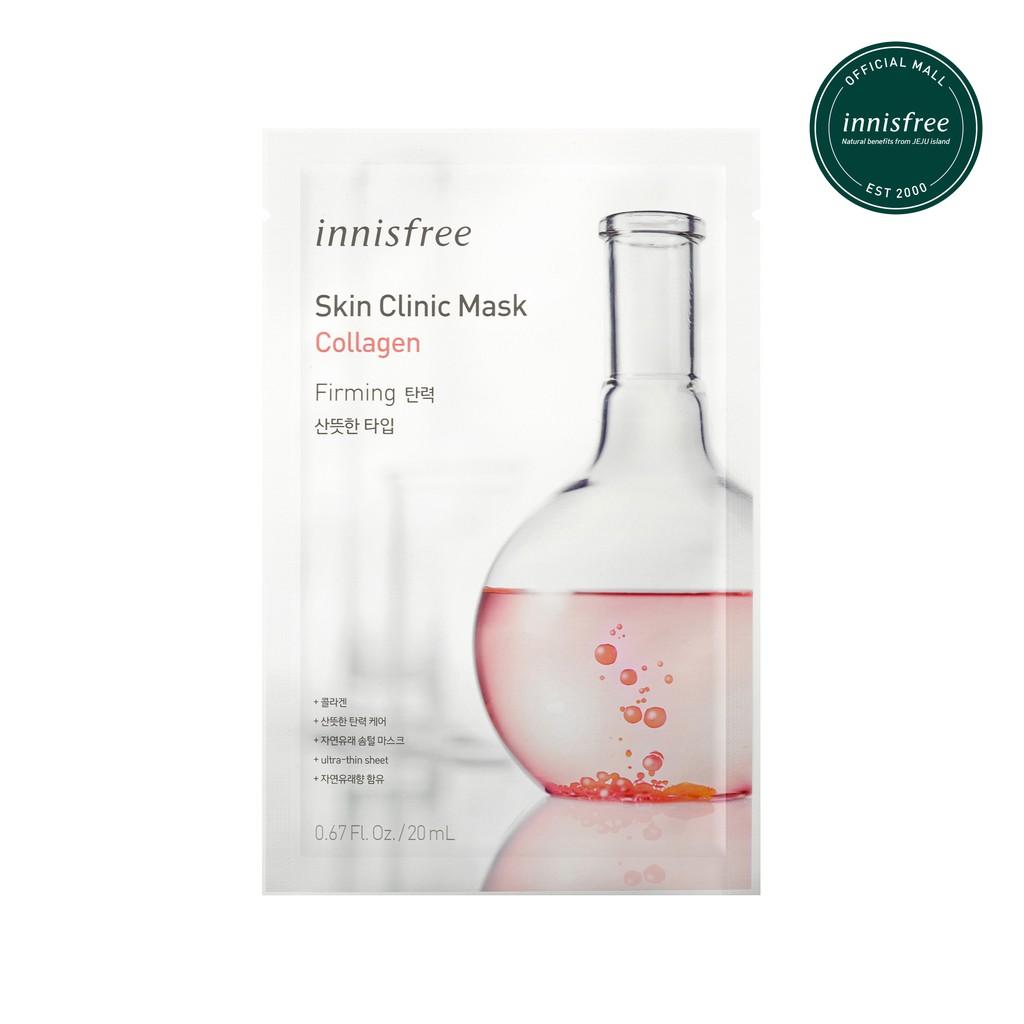 mặt nạ giấy innisfree clinic sáng da collagen