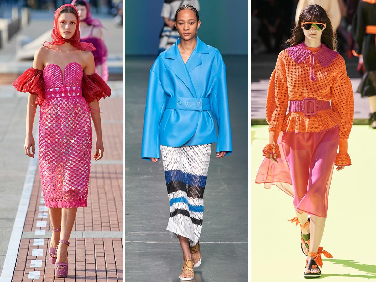 Trang phục đan móc - một trong những xu hướng nổi bật của mùa mốt Xuân - Hè 2020