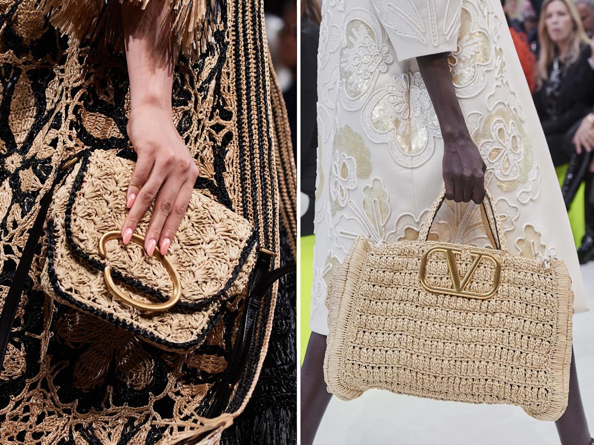Cập nhật xu hướng thời trang Xuân - Hè 2020 với túi xách đan móc